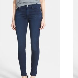 7 For All mankind mid rise skinny jeans